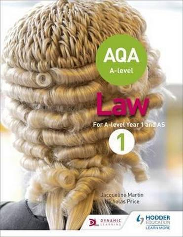 AQA A-level Law for Year 1/AS - Jacqueline Martin