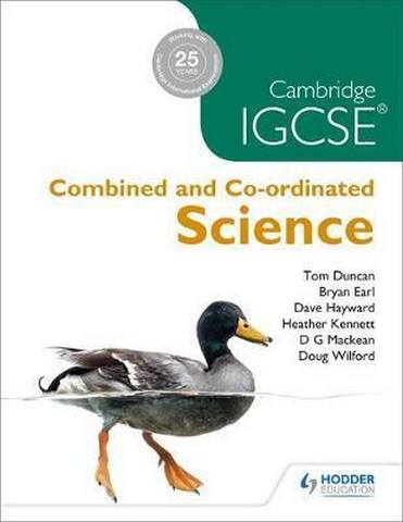 Cambridge IGCSE Combined and Co-ordinated Sciences - D. G. Mackean