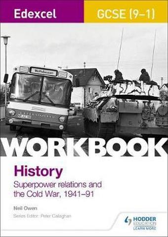 Edexcel GCSE (9-1) History Workbook: Superpower relations and the Cold War