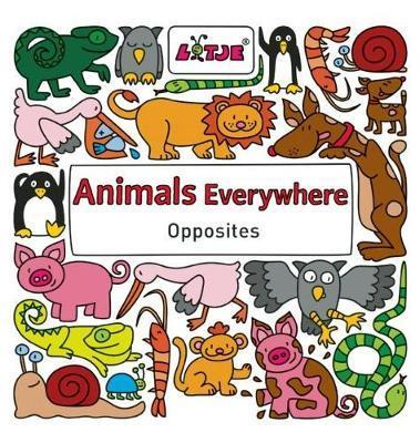 Animals Everywhere: Opposites - Lizelot Versteeg