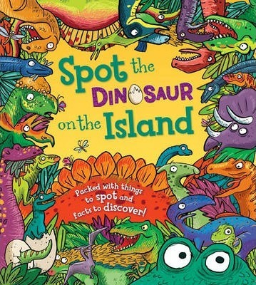 Spot the Dinosaur on the Island - Stella Maidment