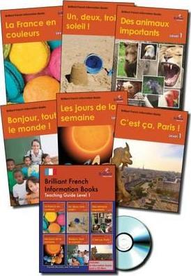 Brilliant French Information Books pack - Level 1: A graded French non-fiction reading scheme for primary schools - Daniele Bourdais