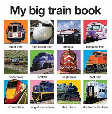 My Big Train Book: My Big Books - Roger Priddy