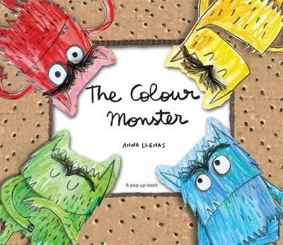The Colour Monster Pop-Up - Anna Llenas