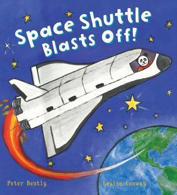 Busy Wheels Space Shuttle Blasts off - Peter Bently