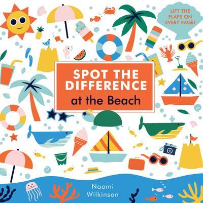 Spot the Difference: At the Beach - Naomi Wilkinson