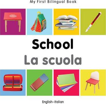 My First Bilingual Book - School - English-urdu - Milet