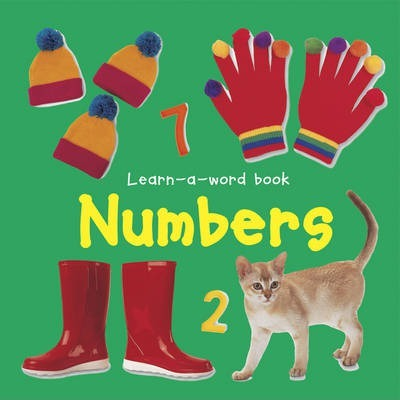 Learn-a-word Book: Numbers - Nicola Tuxworth
