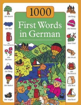 1000 First Words in German - Andrea Kenkmann