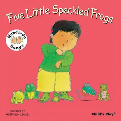 Five Little Speckled Frogs: BSL (British Sign Language) - Anthony Lewis