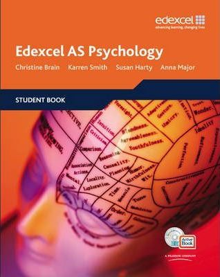 Edexcel AS Psychology Student Book + ActiveBook with CDROM - Christine Brain