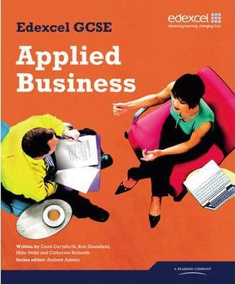 Edexcel GCSE in Applied Business Student Book - Carol Carysforth