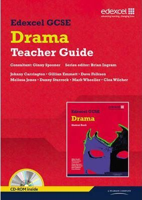 Edexcel GCSE Drama Teacher guide with CD-ROM - Melissa Jones