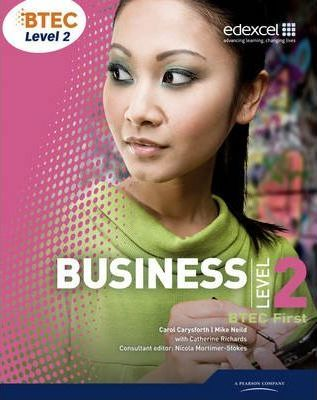 BTEC First Business Student Book - Mike Neild