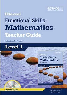 Edexcel Functional Skills Mathematics Level 1 Teacher Guide - Tony Cushen