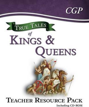 True Tales of Kings & Queens - Guided Reading Teacher Resource Pack - CGP Books