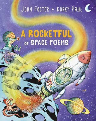 A Rocketful of Space Poems - John Foster