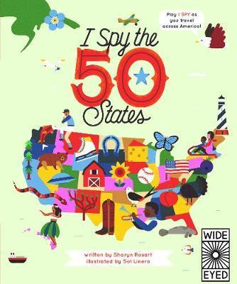 I Spy the 50 States - Sharyn Rosart
