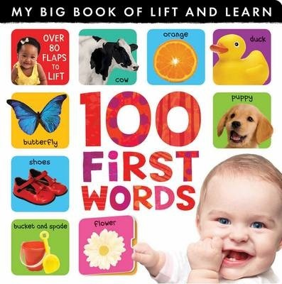My Big Book of Lift and Learn: 100 First Words - Caterpillar Books