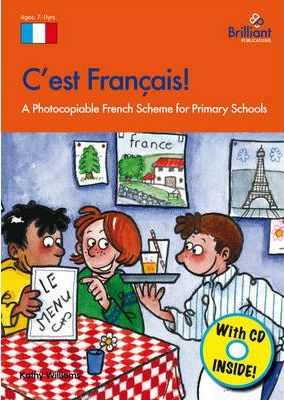 C'est Francais!: A Photocopiable French Scheme for Primary Schools - Kathy Williams