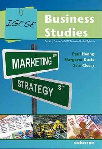 IGCSE Business Studies - Paul Hoang