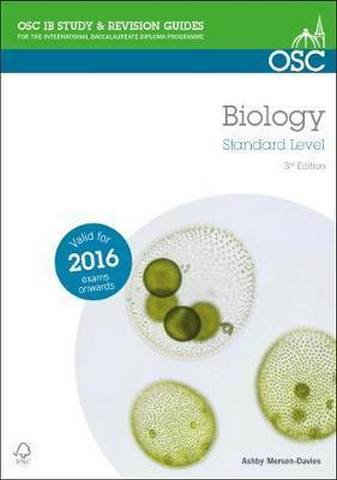 IB Biology Standard Level - Ashby Merson-Davies
