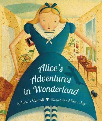 Alice's Adventures in Wonderland Board Book - Lewis Carroll