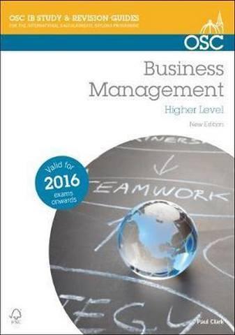 Business and Management HL - Paul Clark
