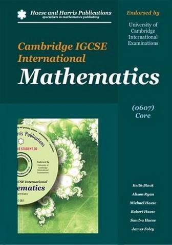 Cambridge IGCSE International Mathematics 0607 Core - Keith Black