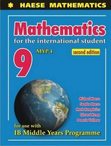 Mathematics IB 9 MYP 4 - Michael Haese