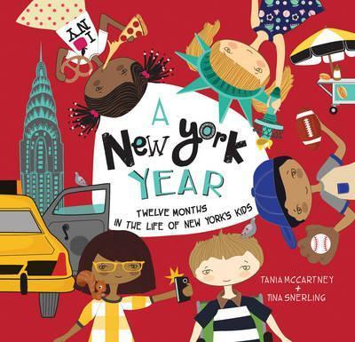 A New York Year - Tania McCartney