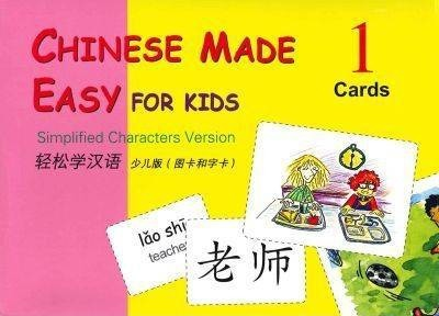 Chinese Made Easy for Kids: Vol. 1: Chinese Made Easy for Kids vol.1 - Cards (Simplified characters) Cards - Yamin Ma