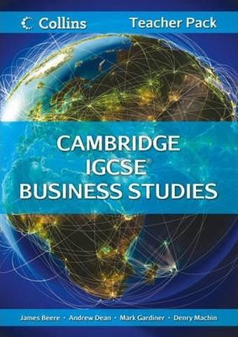 Cambridge IGCSE (TM) Business Studies Teacher Resource Pack (Collins Cambridge IGCSE (TM)) - James Beere