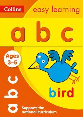 ABC Ages 3-5: New Edition (Collins Easy Learning Preschool) - Collins Easy Learning