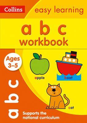 ABC Workbook Ages 3-5: New Edition (Collins Easy Learning Preschool) - Collins Easy Learning