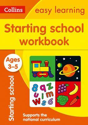 Starting School Workbook Ages 3-5: New Edition (Collins Easy Learning Preschool) - Collins Easy Learning