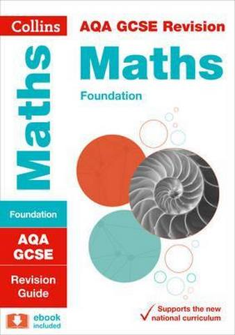 AQA GCSE 9-1 Maths Foundation Revision Guide (Collins GCSE 9-1 Revision) - Collins GCSE