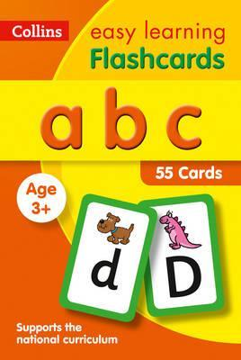 abc Flashcards (Collins Easy Learning Preschool) - Collins Easy Learning