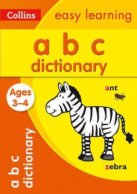 ABC Dictionary Ages 3-4 (Collins Easy Learning Preschool) - Collins Easy Learning