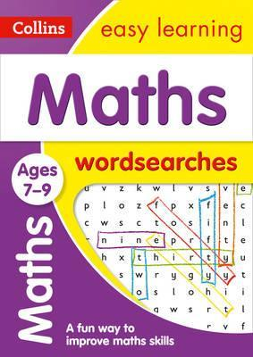 Maths Word Searches Ages 7-9 (Collins Easy Learning KS2) - Collins Easy Learning