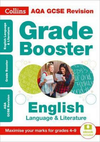 AQA GCSE 9-1 English Language And English Literature Grade Booster for grades 4-9 (Collins GCSE 9-1 Revision) - Collins GCSE