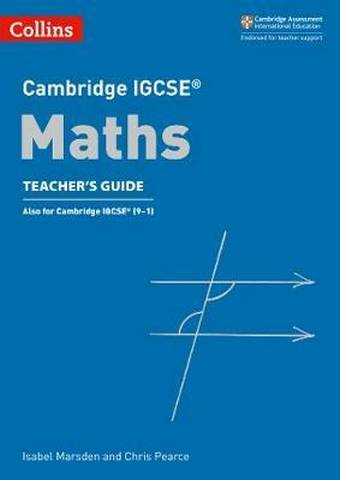 Cambridge IGCSE (TM) Maths Teacher's Guide (Collins Cambridge IGCSE (TM)) - Chris Pearce