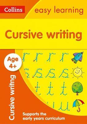 Cursive Writing Ages 4-5 (Collins Easy Learning Preschool) - Collins Easy Learning