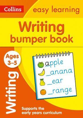 Writing Bumper Book Ages 3-5 (Collins Easy Learning Preschool) - Collins Easy Learning