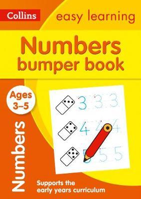 Numbers Bumper Book Ages 3-5 (Collins Easy Learning Preschool) - Collins Easy Learning