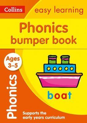 Phonics Bumper Book Ages 3-5 (Collins Easy Learning Preschool) - Collins Easy Learning
