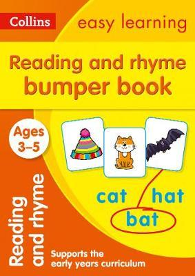 Reading and Rhyme Bumper Book Ages 3-5 (Collins Easy Learning Preschool) - Collins Easy Learning