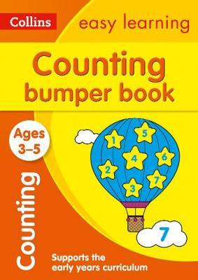 Counting Bumper Book Ages 3-5 (Collins Easy Learning Preschool) - Collins Easy Learning