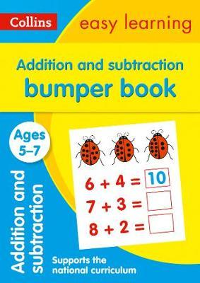 Addition and Subtraction Bumper Book Ages 5-7 (Collins Easy Learning KS1) - Collins Easy Learning
