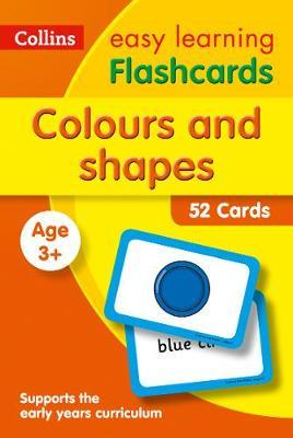 Colours and Shapes Flashcards (Collins Easy Learning Preschool) - Collins Easy Learning
